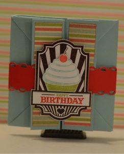 Sweet Cake Box Card