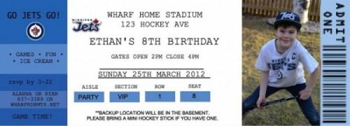 Ethan 8th BD ticket