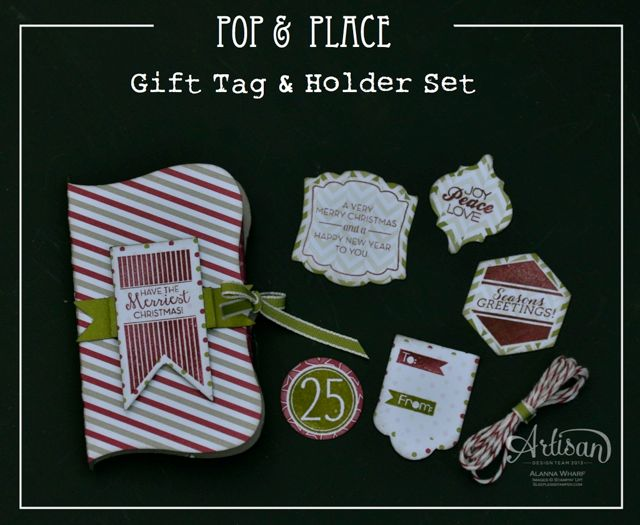 Artisan Wednesday Wow ~ Pop & Place tag set ~ Sleepless Stamper