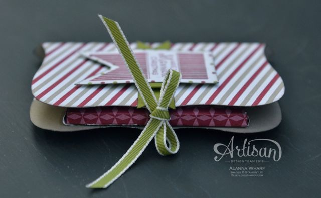 Artisan Wednesday Wow ~ Pop & Place side ~ Sleepless Stamper