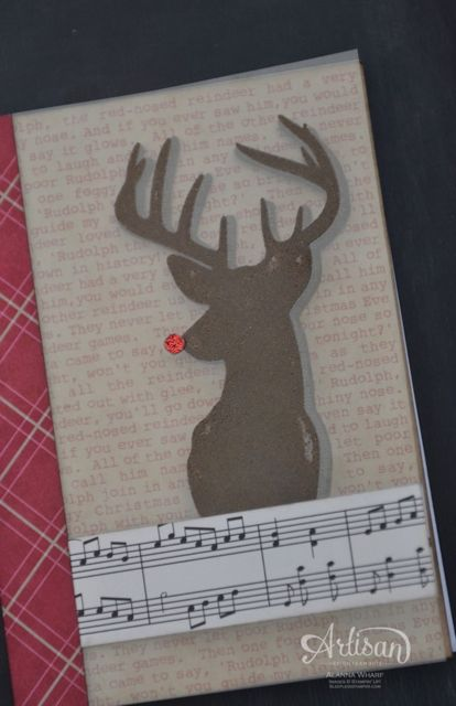 Artisan Wednesday Wow ~ Red-Nosed Reindeer