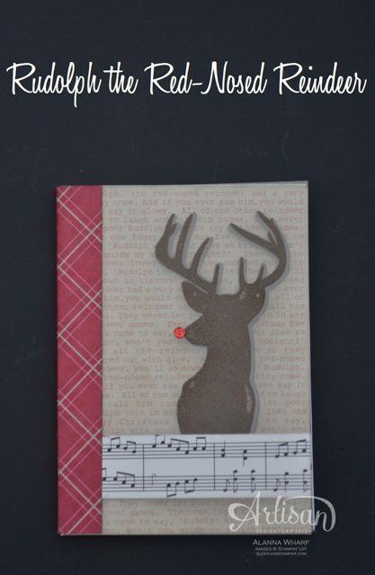 Artisan Wednesday Wow ~ Rudolph Notebook