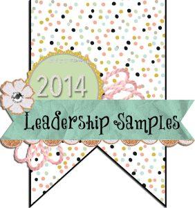 Stampin' Up! Leadership Display 2014