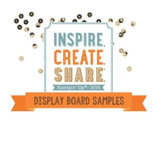 Display Board Samples ~ Inspire Create Share ~ Sleepless Stamper